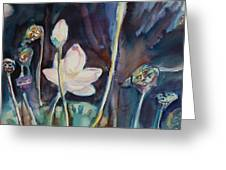 Lotus Study II Greeting Card
