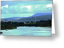 Lough Erne 2 Greeting Card