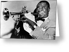 Louis Armstrong 1900-1971 Greeting Card by Granger