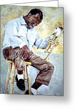 Louis Armstrong- Pops Greeting Card