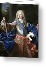 Louis De Bourbon Of Savoy. Prince Of Asturias. Later Louis I Of Spain  Greeting Card