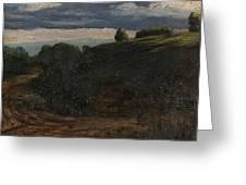 Louis Michel Eilshemius American 1864-1941 Summer Twilight, 1884 Greeting Card