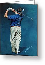 Louis Osthuizen Open Champion 2010 Greeting Card