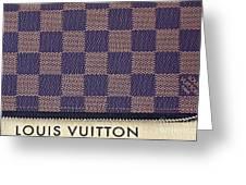 Louis Vuitton Mens Wallet Greeting Card
