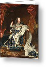 Louis Xv Of France As A Child Greeting Card