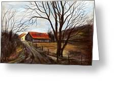 Louisa Kentucky Barn Greeting Card