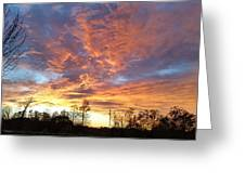 Louisiana Sunset 1 Greeting Card