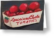 Louisiana Tomatoes Greeting Card
