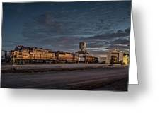 Louisville And Indiana Railroad At Jeffersonville Indiana Greeting Card
