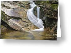 Louisville Brook - Bartlett  New Hampshire Usa Greeting Card