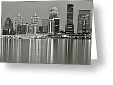 Louisville Gray Greeting Card
