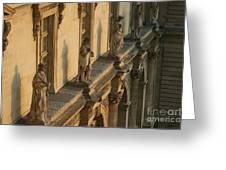 Louvre Exterior Greeting Card