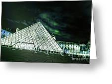 Louvre Museum 5b Art Greeting Card