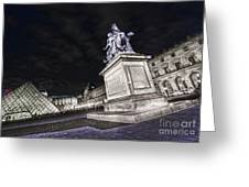 Louvre Museum 7 Art Greeting Card