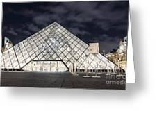 Louvre Museum Art Greeting Card