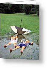 Love A Rainy Day Series Greeting Card