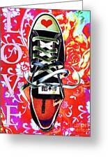 Love And Converse Greeting Card