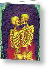 Love And Death Greeting Card