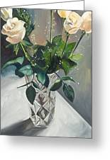 Love And Roses Greeting Card