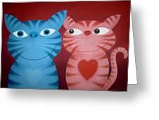 Love Catz Greeting Card