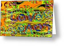 Love Contest Greeting Card