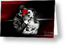 Love Couple 2 Greeting Card