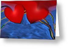 Love Flow Greeting Card