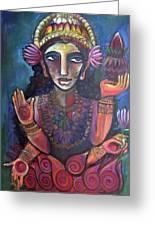 Love For Lakshmi Greeting Card