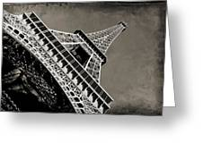 Love For Paris Greeting Card by Ankeeta Bansal