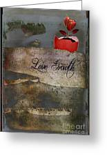 Love Growth - V2t1 Greeting Card