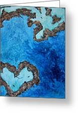 Love Heart Reef Greeting Card