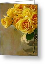 Love In A Vase Greeting Card