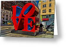 Love In Nyc Greeting Card