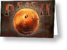 Love Is A Peach Greeting Card