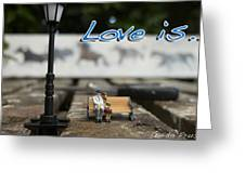 Love Is By Guido Prussia Greeting Card