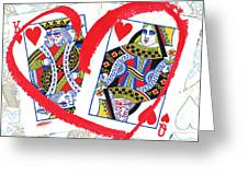 Love Is In The Cards Greeting Card
