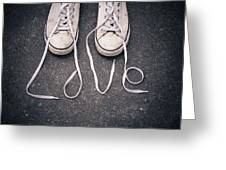 Love Laces Greeting Card