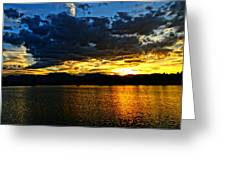 Love Lake Greeting Card by Eric Dee