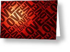 Love Letters Greeting Card by Michael Tompsett