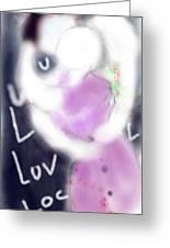 Love Lock Greeting Card