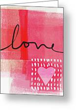 Love Notes- Art By Linda Woods Greeting Card