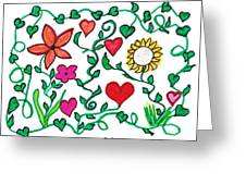 Love On The Vine Greeting Card