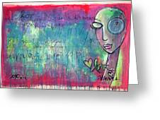 Love Painting Greeting Card