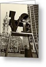 Love Philadelphia Greeting Card