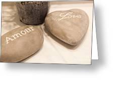 Love Rock Greeting Card