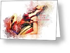 Love Sex Romance Greeting Card