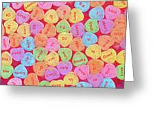 Love Songs 3 Greeting Card