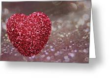 Love Sparkles Greeting Card