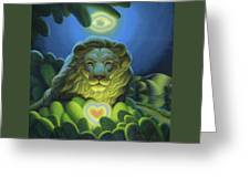Love, Strength, Wisdom Greeting Card