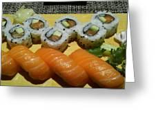 Love Sushi Greeting Card